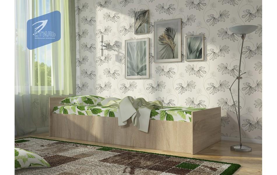 Кровать ЛДСП 0,8*1,9
