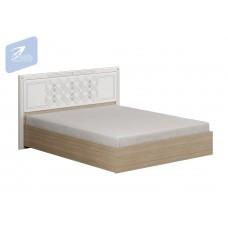 Кровать «Амели» с щитком МДФ с ортопедическим основанием