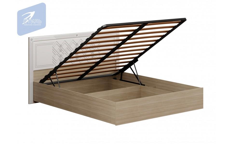 Кровать «Амели» с щитком МДФ с подъемным механизмом