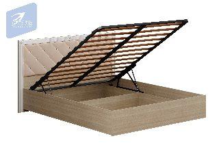 Кровать «Амели» с мягким щитком с подъемным механизмом