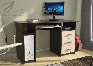 Стол письменный ЛИК-5 СК-4 (1240 *740*570)